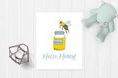 Vector Bees and Honey! Product Image 5