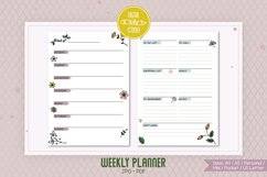 Weekly Planner Organizer | Digital Agenda Mini, Pocket Product Image 1