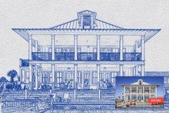 Architect Blueprint Photoshop Action Product Image 5