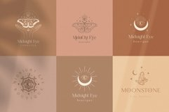 Mysterious Logos Collection. Fully editable Pre-made Logos. Product Image 2