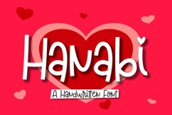 Hanabi | A Handwritten Font Product Image 1