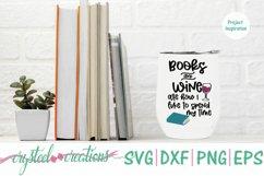 Book Wine Bundle SVG, DXF, PNG, EPS Product Image 5