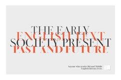 LEGATUM font family Product Image 2
