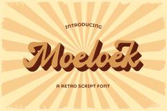 Moeloek - Retro Bold Display Script Product Image 1