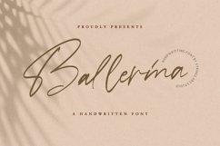 Ballerina - Signature Script Font Product Image 1