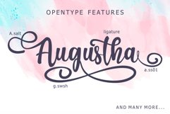 Augustha - Lovely Script Product Image 3