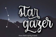 Moon Child Font Trio Product Image 6