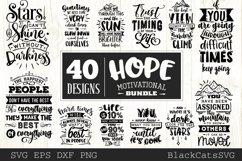 Hope motivational Bundle SVG bundle 40 designs Product Image 4