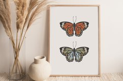 Boho butterfly print, Digital butterfly print, Birthday gift Product Image 7