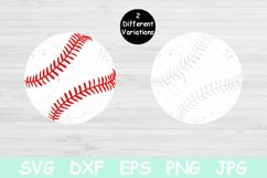 Distressed Baseball Svg Files for Cricut. Baseball Mom Svg Product Image 1