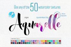 Aquarelle Master Shop Photoshop Action Kit Product Image 2