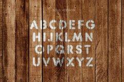 Stencil Headline Font Product Image 4