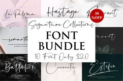 Signature Collection Font Bundle Product Image 1