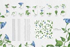 Hummingbird and fantasy flora Product Image 3