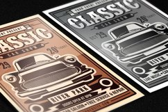 Classic Car Show Flyer Product Image 3