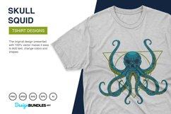 Squid Skull Illustrations Product Image 2