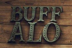 Buffalo Typeface Product Image 5