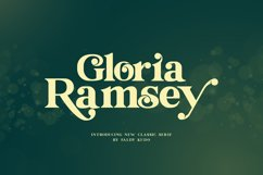 Gloria Ramsey - Two Faced Serif Product Image 2