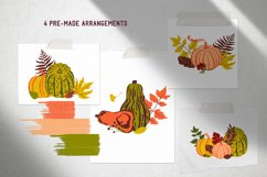 Hello autumn. Collection of vector elements and pattern Product Image 2