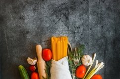 Vegetables on a concrete background Product Image 5
