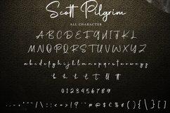 Scott Pilgrim   Handdraw Signature Font Product Image 6