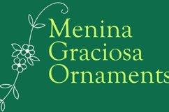 Menina Graciosa Ornaments Product Image 4