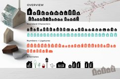 Popcornville font and beach house style - two style fonts Product Image 5