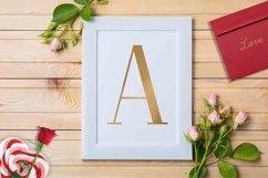 Alphabet gold, gold letter Product Image 3
