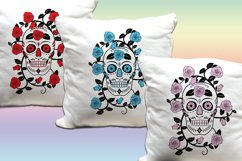 Skull & Roses Vector Designs- SVG & PNG Product Image 3