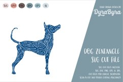 Dog SVG / Mandala SVG / Zentangle / Boho SVG Product Image 2