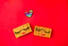 Concept lgbt love. Creative Valentine's Day Greeting card Product Image 1
