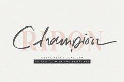 Ripon Font Duo // Free 10 Logos Product Image 1