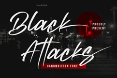 Black Attacks Product Image 1
