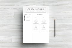 Creative Resume Template Product Image 4