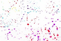 100 Photographs of Real Paint Splatters and Drips! Product Image 3