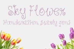 Sky Flower - Handwritten Font Product Image 1