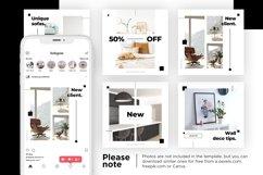 Interior Designer Instagram Posts Template | CANVA Product Image 9