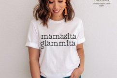 Mamasita Glammita SVG, Instant Download Product Image 1