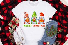 Gnomes Christmas sublimation designs Watercolor christmas Product Image 3