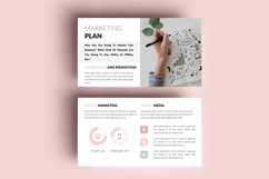 PPT Template   Business Plan - Pink and Marble Product Image 9