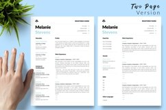 Nurse Resume CV Template for Word & Pages Melanie Stevens Product Image 3