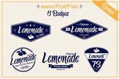 Lemonade Typeface with 5 Badges Bonus Product Image 4