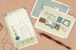 Vintage Stamp Wedding Invitation Product Image 4