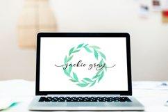 Web Font Blakeley Script Font & Watercolor Logos Product Image 5