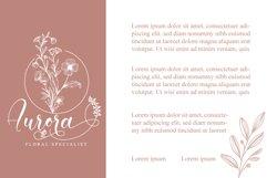 Amiela - Flower Calligraphy Product Image 8