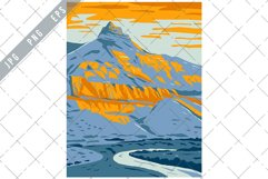 Sheep Rock in John Day Fossil Beds National Monument WPA Product Image 1