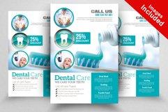 Medical Dental Care Flyer Product Image 3