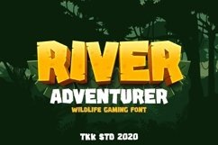 River Adventurer - Gaming Font Product Image 1