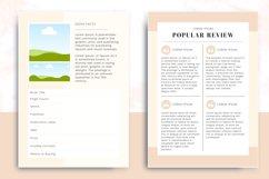 Minimalist Author Media Kit   Media Kit Template Product Image 4