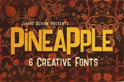 Pineapple - Funny Style Font Product Image 1
